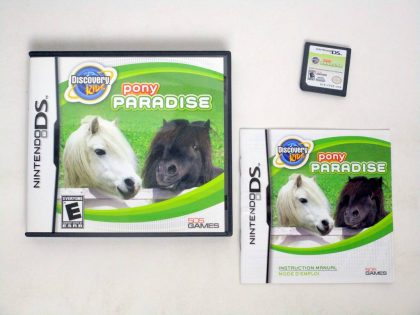 Discovery Kids: Pony Paradise game for Nintendo DS -Complete