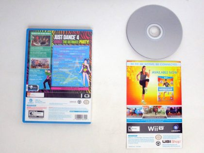 Just Dance 4 game for Nintendo Wii U | The Game Guy