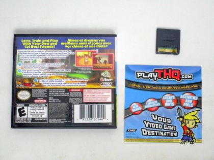 Paws and Claws Dogs and Cats Best Friends game for Nintendo DS   The Game Guy