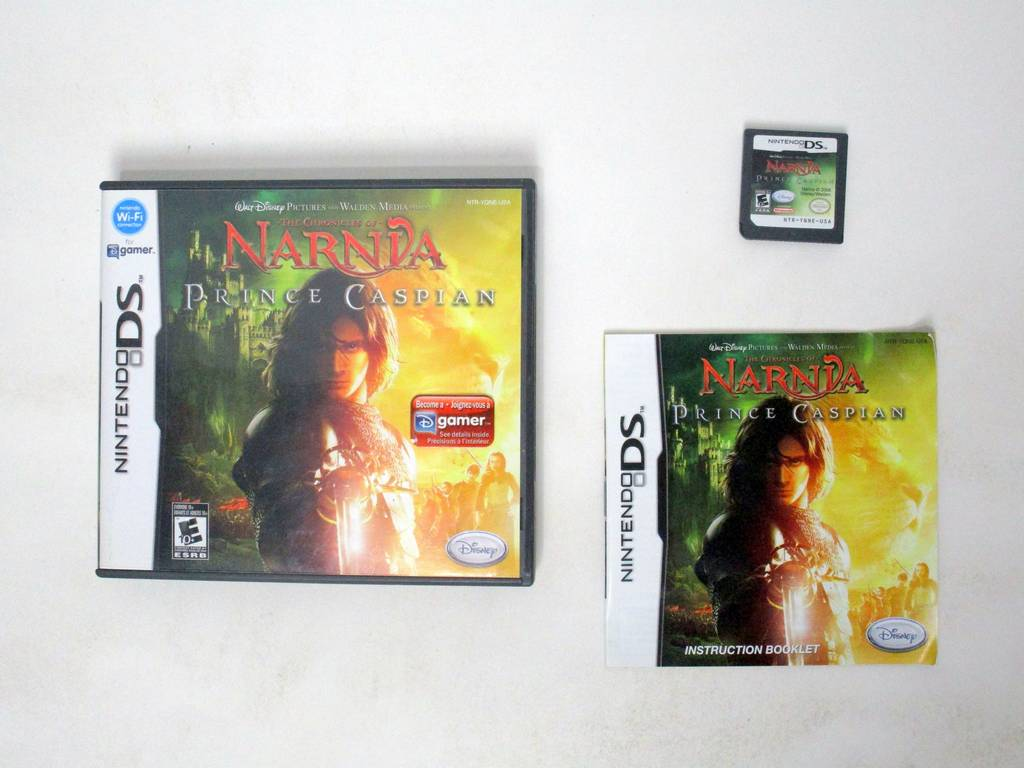 Chronicles of Narnia Prince Caspian game for Nintendo DS -Complete