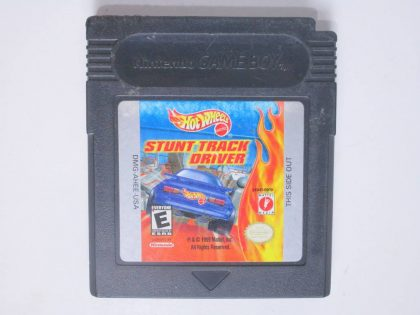 Hot Wheels Stunt Track Driver game for Nintendo Game Boy Color -Loose