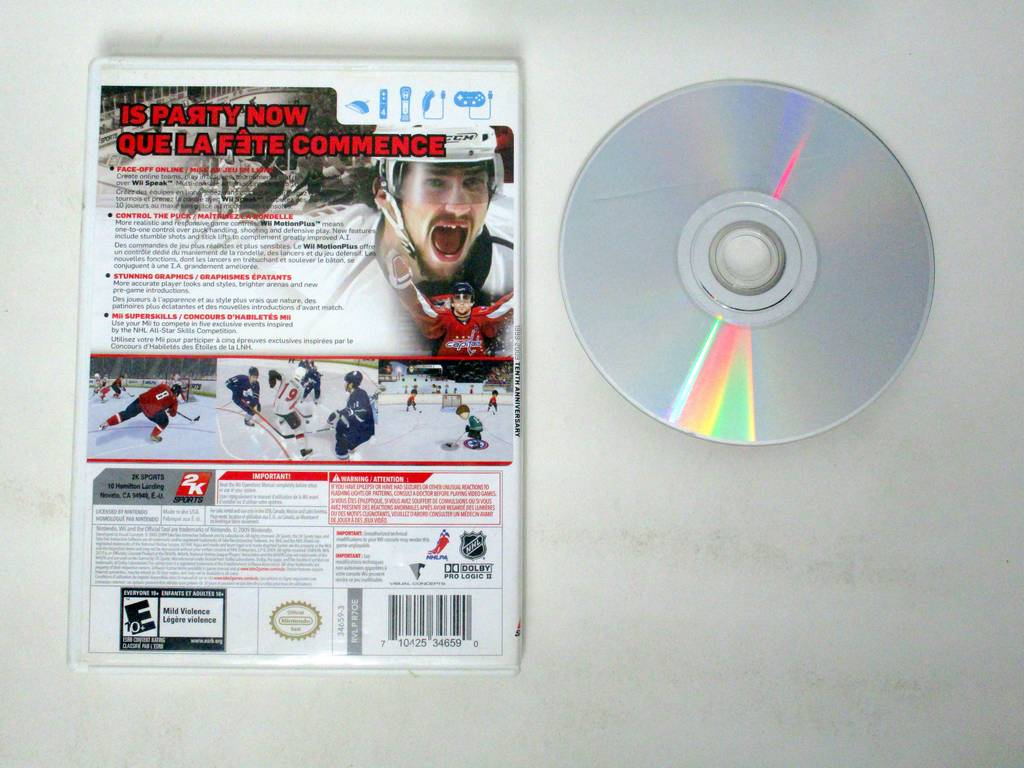 NHL 2K10 game for Nintendo Wii | The Game Guy