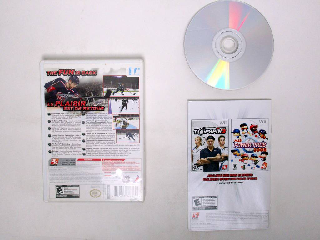 NHL 2K9 game for Nintendo Wii   The Game Guy