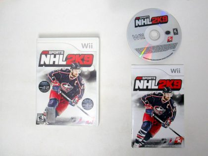 NHL 2K9 game for Nintendo Wii -Complete