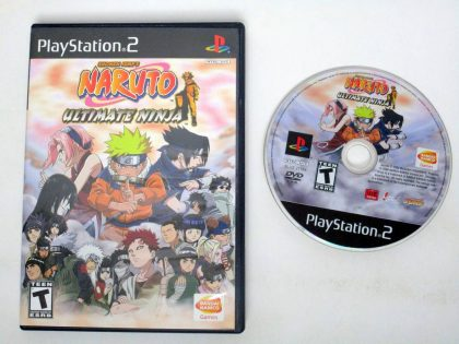 Naruto Ultimate Ninja game for Sony PlayStation 2 -Game & Case
