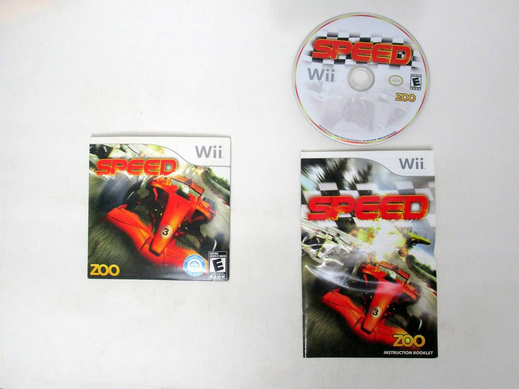 Speed game for Nintendo Wii -Complete