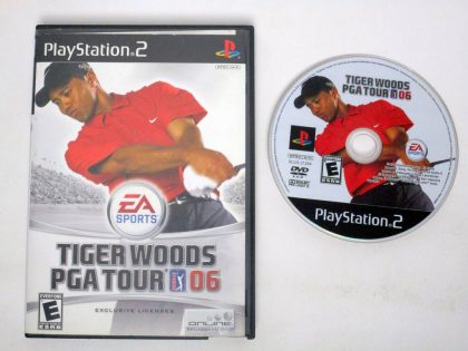Tiger Woods 2006 game for Sony PlayStation 2 -Game & Case