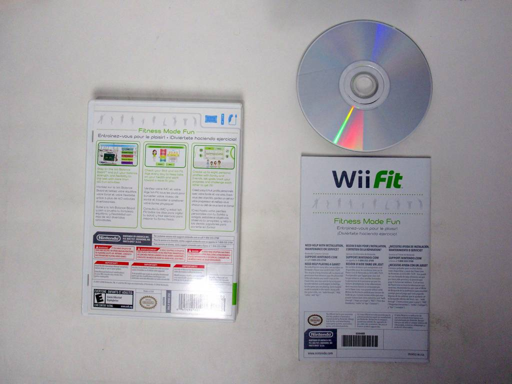 Wii Fit (Game Only) game for Nintendo Wii | The Game Guy